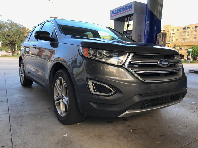 2017 Ford Edge Titanium Rental Review – Needs More Boost, Less Eco