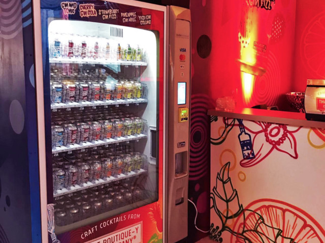 Score Gins In Tins From This Vending Machine In Brick Lane... But Only Till Sunday