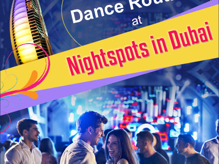 Break Into a Dance Routine at These Top Nightspots in Dubai