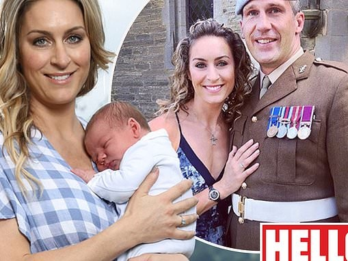 Olympic champion Amy Williams reveals the sweet name she's called her second child