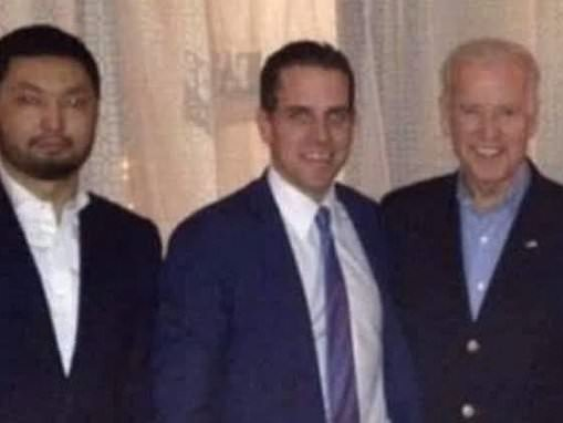 Photo shows Joe Biden with his son Hunter's 'business partner' in Kazakhstan