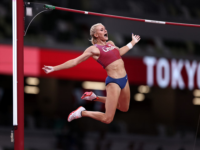 Nageotte earns dramatic pole vault gold as Thiam and Warner win heptathlon and decathlon