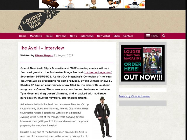 Ike Avelli – interview