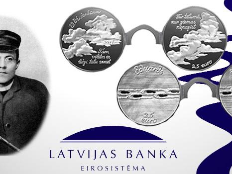 World Coins – Latvia to Issue Eduards Veidenbaums Coin Set