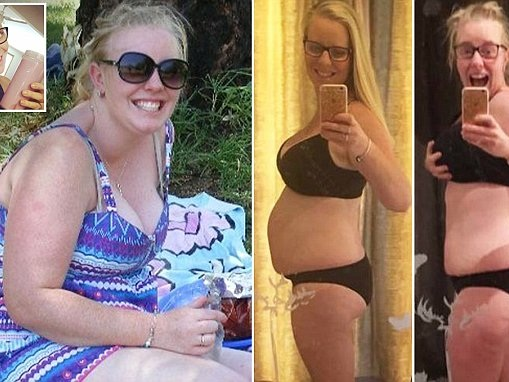 Mother loses more than 20 kilos in just six months
