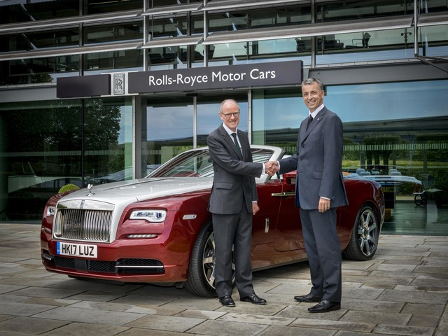 Rolls-Royce Invests in the Future, Supports 'Read to Succeed' Campaign