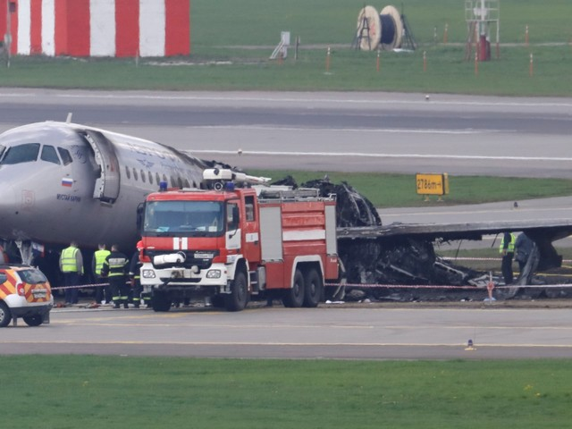 Here's what happened on the fiery emergency landing in Russia that killed 41 people