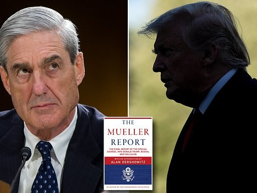 Mueller report will be released with four color-coded cut outs and is on pre-order at Amazon