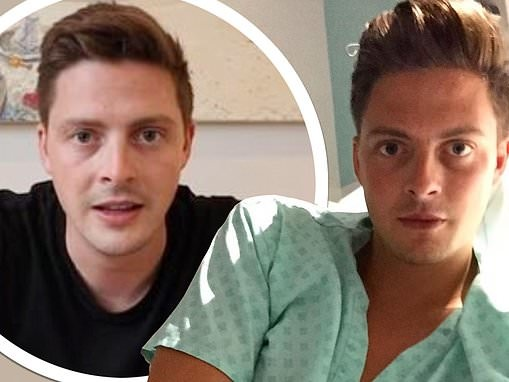 Dr Alex George reveals he almost DIED from septic shock as he details 'frightening' ordeal