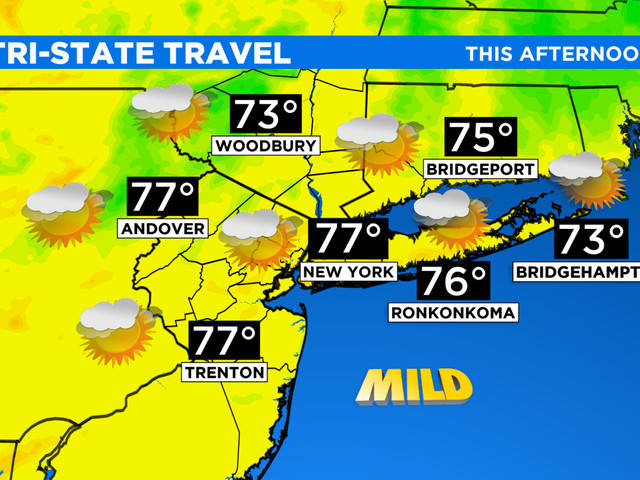 New York Weather: CBS2's 9/17 Friday Afternoon Forecast