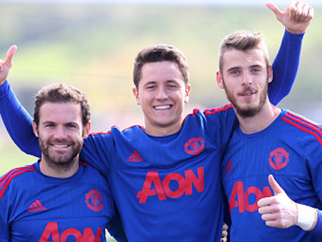 EXCLUSIVE Interview with Juan Mata: It's great playing in the same team as De Gea and Herrera