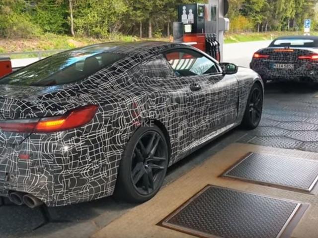 Video: BMW M8 Prototypes Continue Heavy Testing