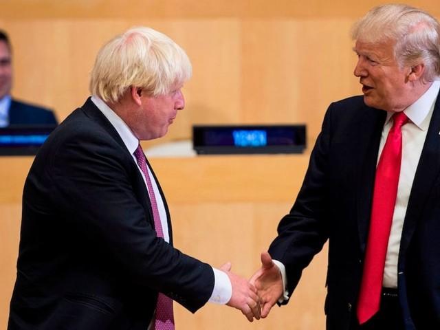 Trump endorses 'very good guys' Boris Johnson and Nigel Farage ahead of UK visit