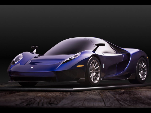The 650-Horsepower Scuderia Cameron Glickenhaus 004S Has a Central Driving Position
