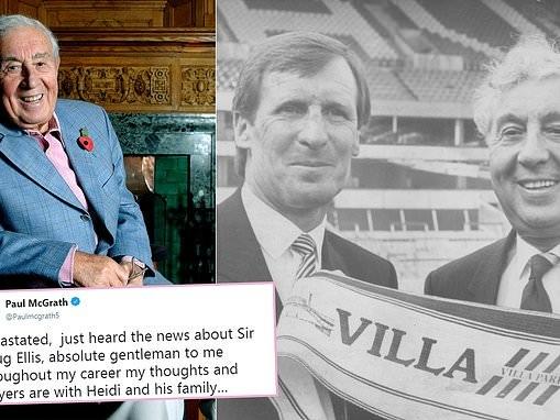 Former Aston Villa chairman Sir Doug Ellis dies aged 94