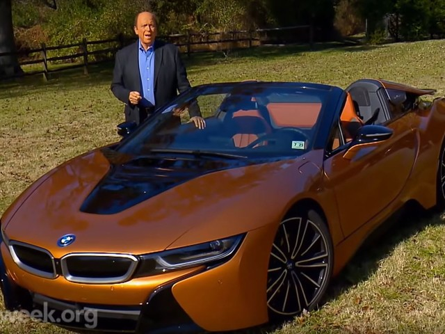 Video Motorweek Reviews Bmw I8 Roadster And I3s Motors Anygator Com