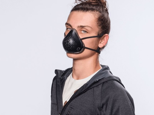 Comfy Protection Breathing Masks - The O2 Curve Mask Filters Particles as Small as 0.1 Microns (TrendHunter.com)