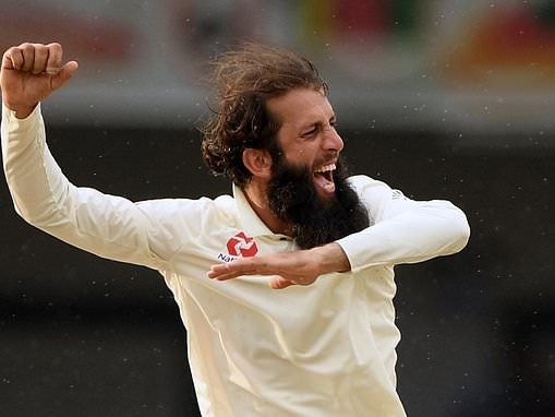 Moeen Ali insists he is happy to step up as England's No 1 spinner before West Indies Test