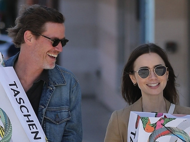 Lily Collins Sends Virtual Love Into The World