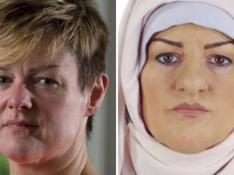 Outrage as white woman is 'browned up' to live as a Muslim and suffers racial abuse in Channel 4 documentary