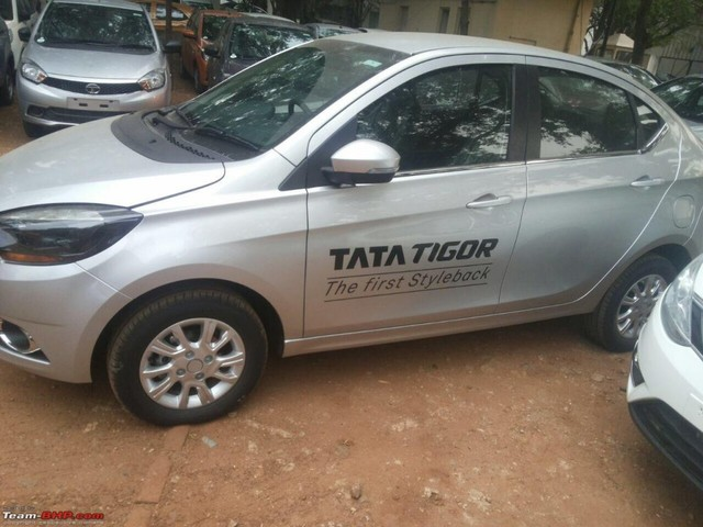 Tata Tigor starts arriving at dealerships ahead of March 29 launch