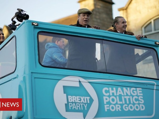Three MEPs quit Brexit Party to back PM's EU deal