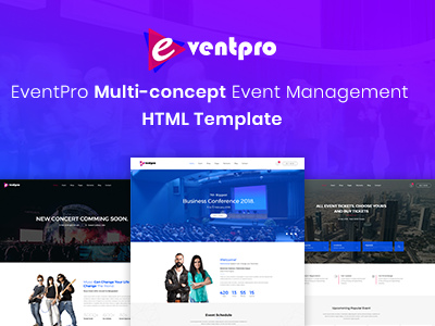 Eventpro - Events and Conference HTML Template (Events)