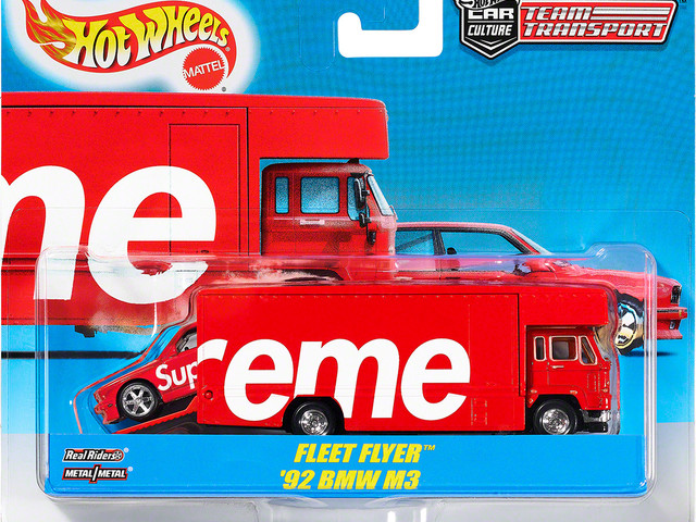 The Supreme Hot Wheels 1992 BMW M3 expectedly sold out in seconds