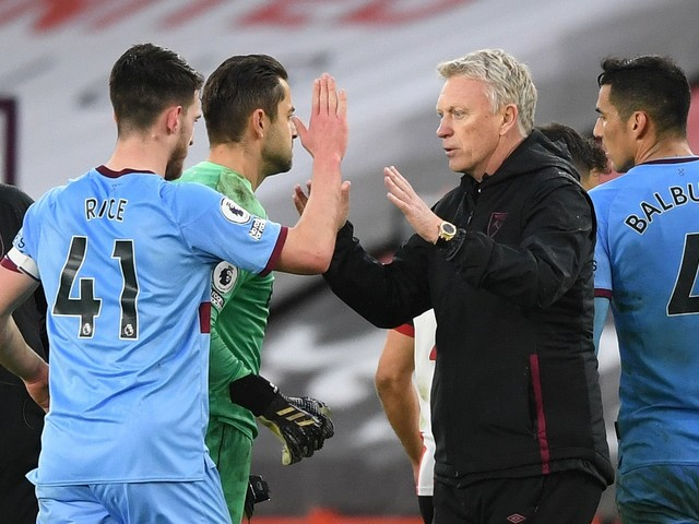 West Ham can now look up - not down - the Premier League table, says David Moyes