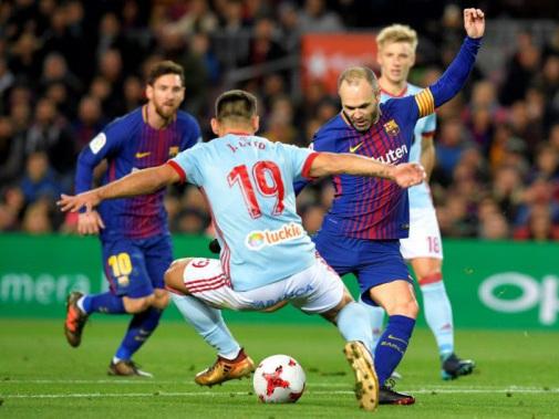 Barcelona stay calm after seeing unbeaten run end