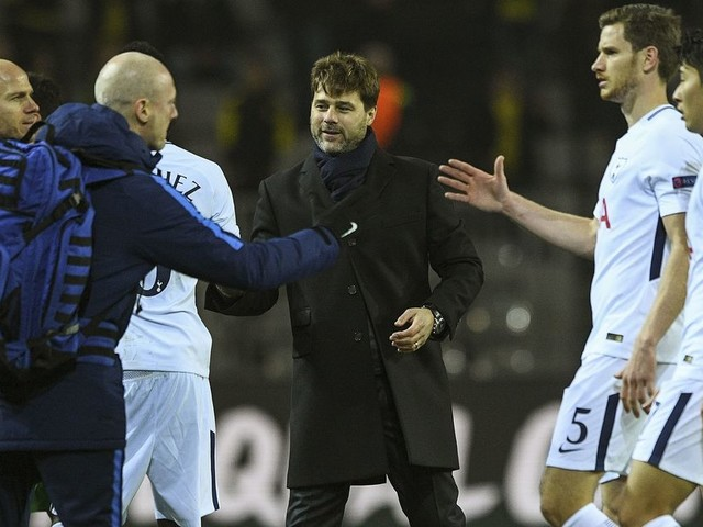 """Mauricio Pochettino lauds Tottenham's """"fantastic achievement"""" after recovering from derby defeat to beat Dortmund"""