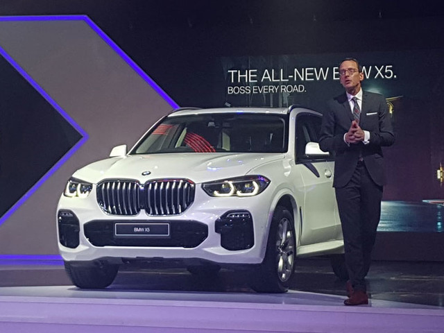 2019 BMW X5 launched at Rs 72.90 lakh