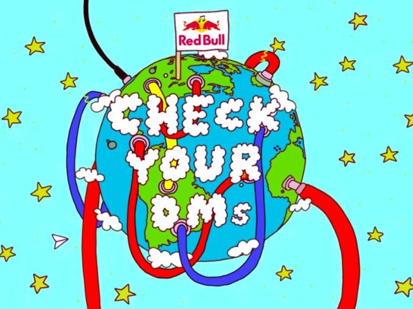 Serendipitous Collaboration Series - Red Bull's Check Your DMs Series Pairs Global Artists (TrendHunter.com)
