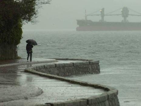 Pacific storm brings weather warnings across B.C.