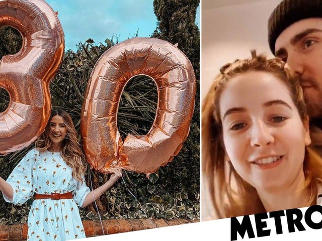 Zoe Sugg won't let coronavirus lockdown ruin 30th birthday as Alfie Deyes arranges sweet surprise
