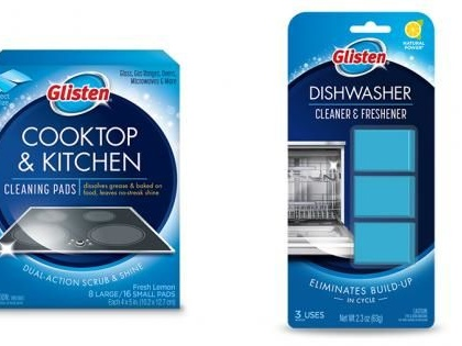 Dual-Action Kitchen Cleaning Products - These New Glisten Cleaning Products are Powerful (TrendHunter.com)