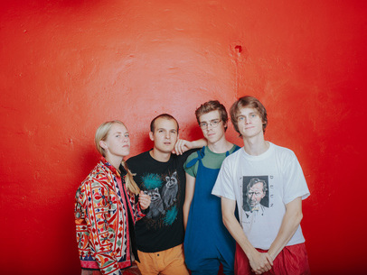 "Track Of The Day: Pom Poko are in deadly synchronisation in their ""Frankenstein distorted disco song"" and video 'Leg Day' [405 Premiere]"