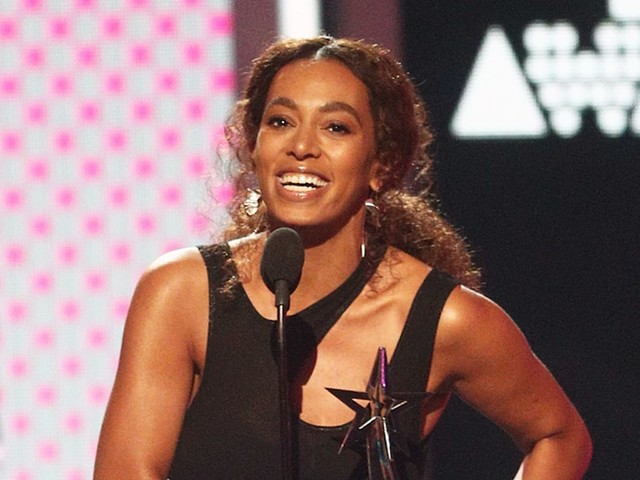 Solange Thanks Family During BET Awards Acceptance Speech Following Beyonce's Twins Arrival