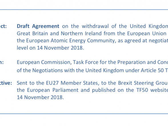 Read In Full: Draft Withdrawal Agreement