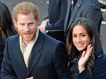 Prince Harry And Meghan Markle Mark World AIDS Day In Nottingham