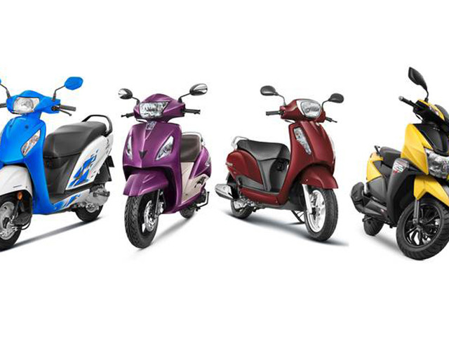Bestselling scooters in India in FY2019
