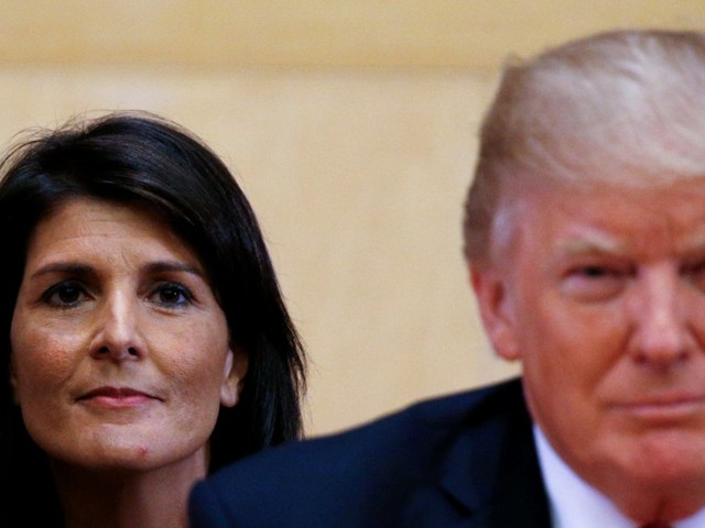 Nikki Haley reportedly resigns as US ambassador to the UN
