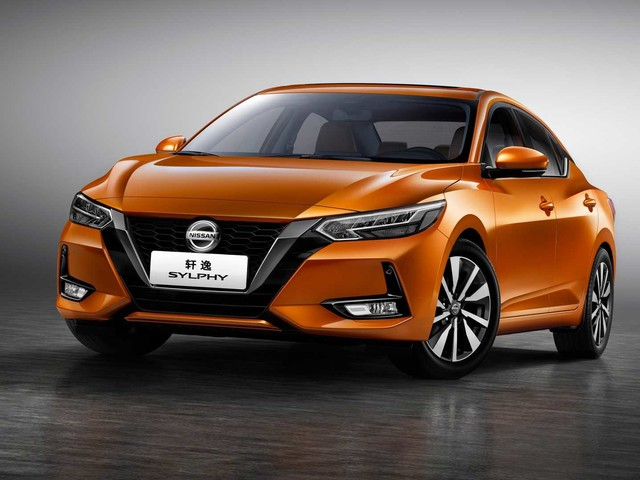 All-new Nissan Sylphy unveiled at Shanghai motor show