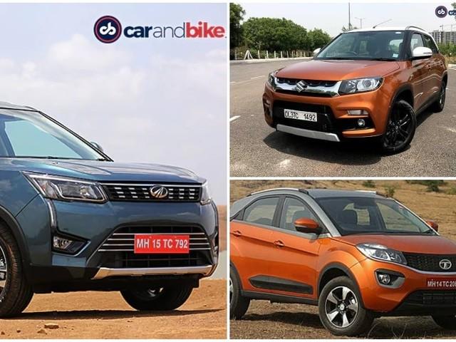 Mahindra XUV300 AMT vs Tata Nexon AMT vs vs Maruti Suzuki Vitara Brezza AMT: Price Comparison