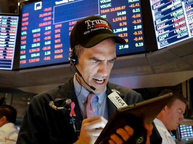 Stocks tumble as political and trade tensions unnerve traders