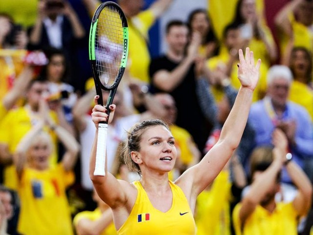 Simona Halep Surivives To Give Romania a 2-1 Lead in Fed Cup 2019