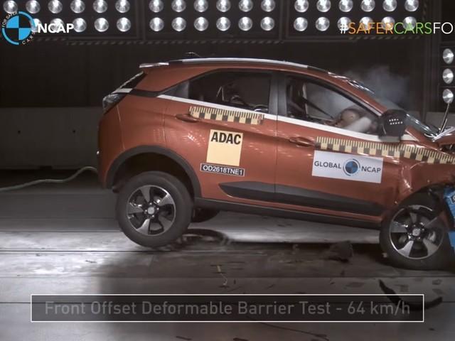VIDEO: Watch The Tata Nexon Take Some Big Blows To Score Its Five Stars