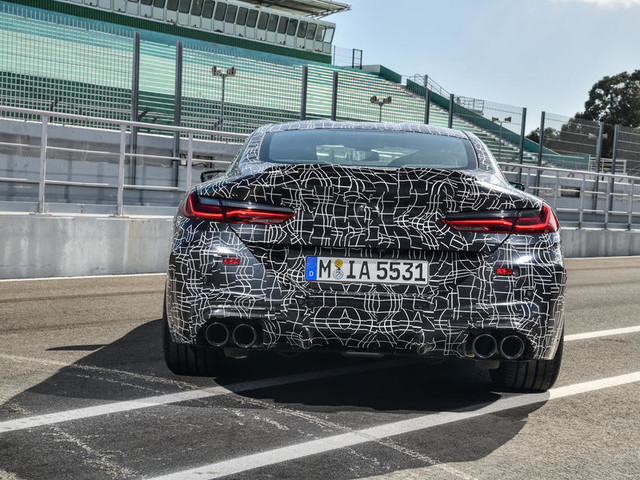 New BMW M8: 600bhp-plus super coupe prototype track ride