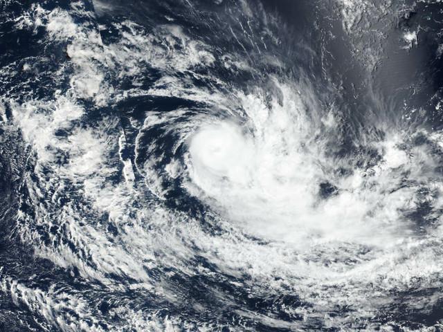 NASA sees Savannah lose its tropical eye