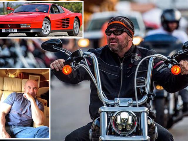 UFC chief Dana White's amazing supercars include £210,000 Ferrari, £20,000 custom-made Harley and private Bombardier jet